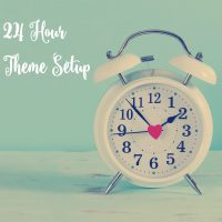 24 Hour WordPress theme setup. Get your #GenesisWP theme installed in under 24 hours