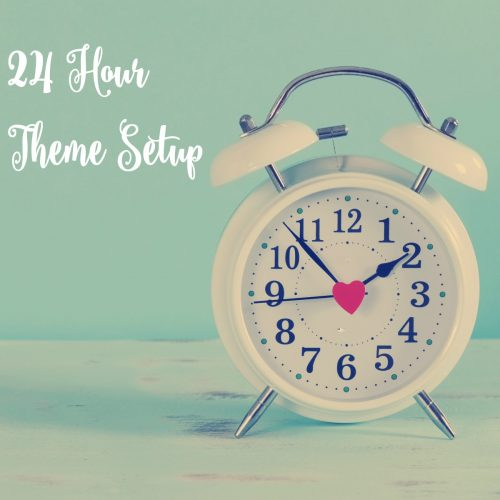 24 Hour WordPress theme setup. Get your #GenesisWP theme installed in under 24 hours