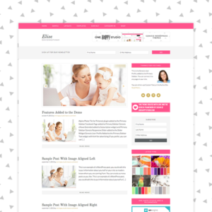 Elise #GenesisWP Premium WordPress Theme