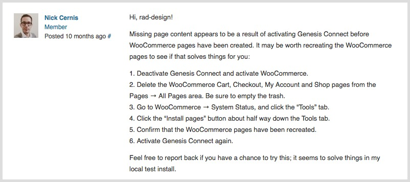 How to Fix WordPress Page Content Not Showing in WooCommerce Settings