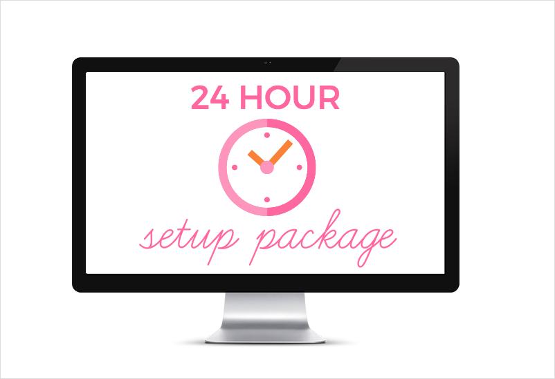 Feminine WordPress themes by One Happy Studio | 24 Hour WordPress Theme Website setup