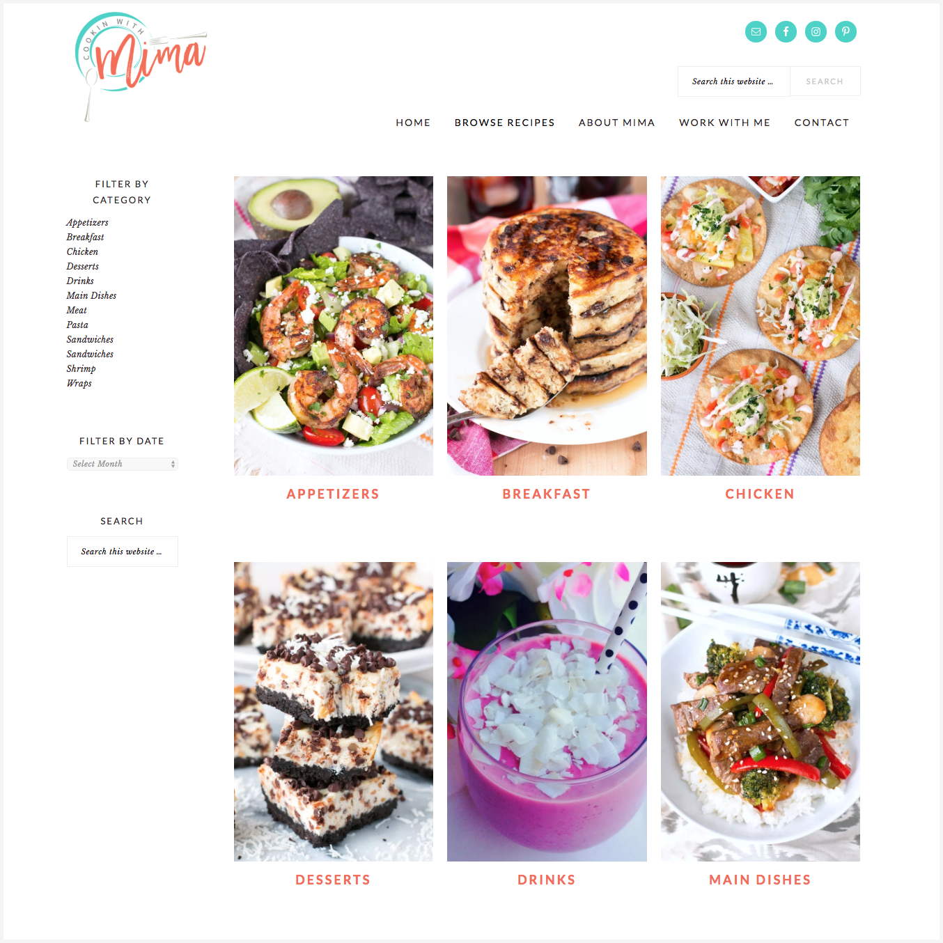 Cookin with Mima - a customization of the Brunch Pro theme